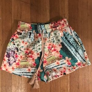 Floral Shorts - size small. Never worn out